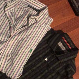 Two dress shirt